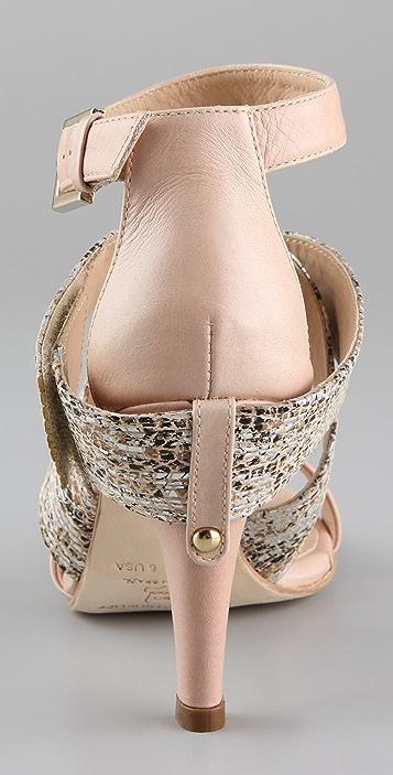 Rebecca Minkoff Bombshell Crisscross Sandals