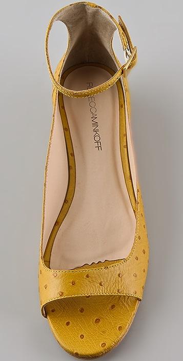 Rebecca Minkoff Coquette Ankle Strap Flats