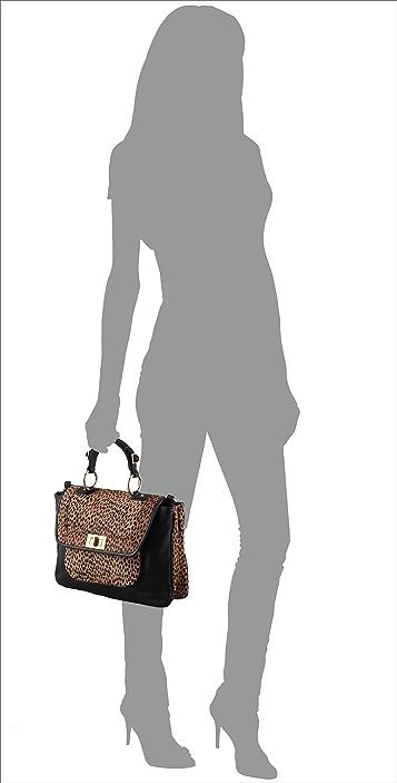Rebecca Minkoff Cheetah Haircalf Covet Bag