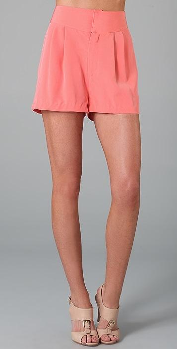 Rebecca Minkoff Hali Cutout Shorts