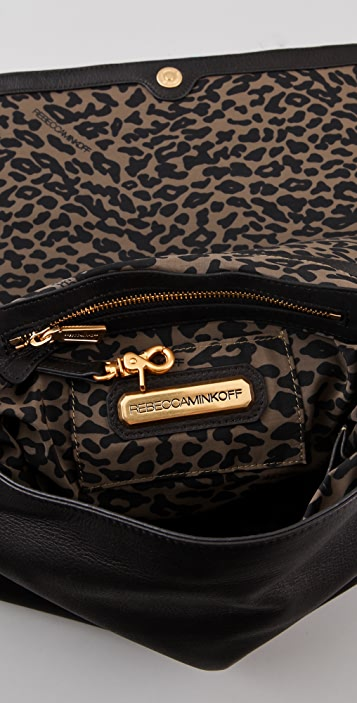 Rebecca Minkoff Small Quilt & Stud Large Racy Clutch