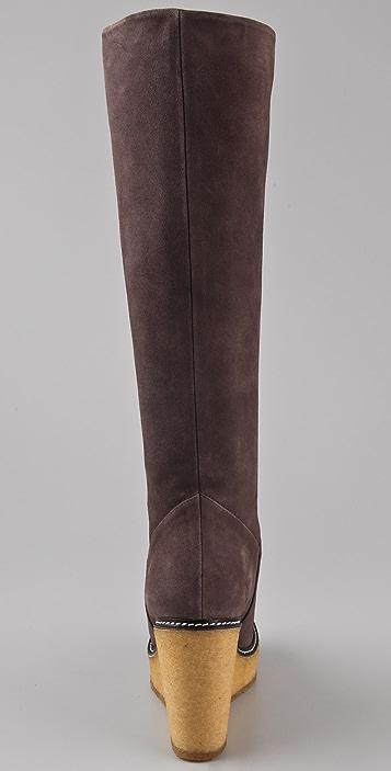 Rebecca Minkoff Dime Suede Wedge Boots