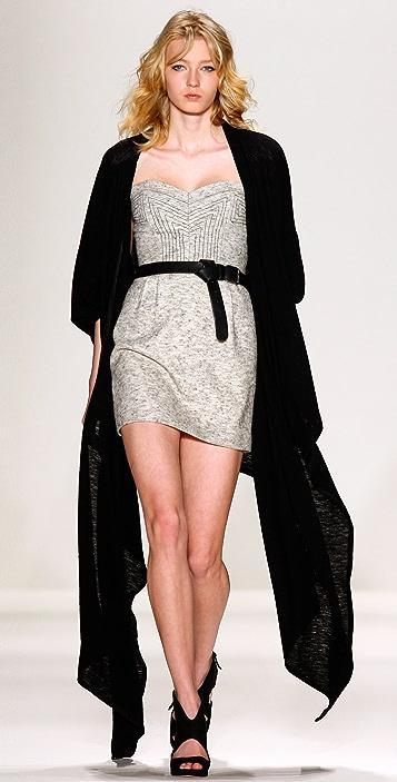 Rebecca Minkoff Lara Tweed Bustier Dress