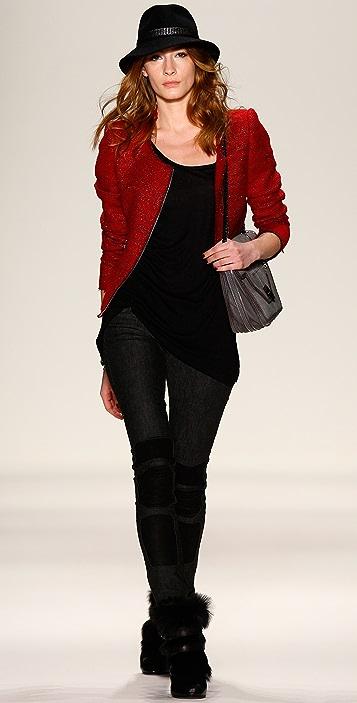 Rebecca Minkoff Sigrid Tweed Jacket