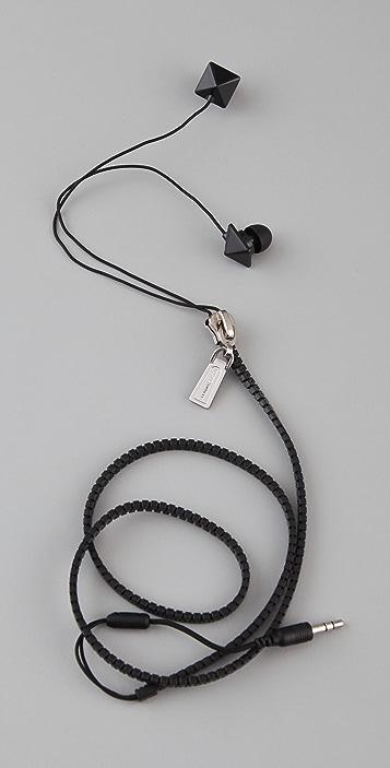 Rebecca Minkoff Zipped Up Ear Phones