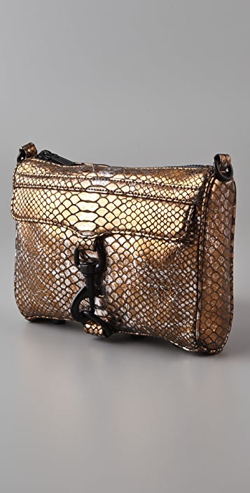 Rebecca Minkoff Mini MAC Evening Snake Bag