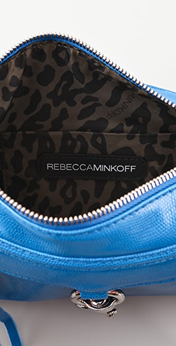 Rebecca Minkoff Neon Lizard Mini MAC Bag