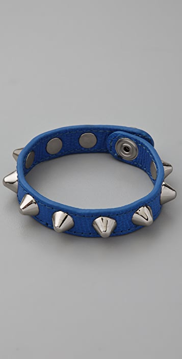 Rebecca Minkoff The Pointy Stud Leather Bracelet