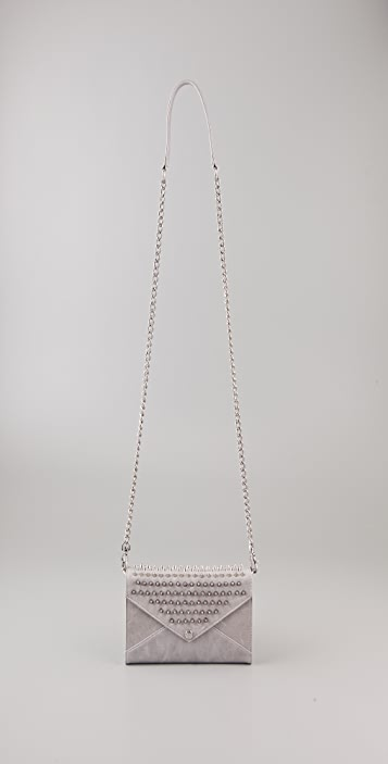 Rebecca Minkoff Studded Wallet On A Chain Clutch