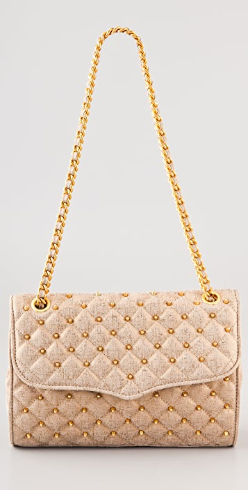 Rebecca Minkoff Quilted Shimmer Affair Bag