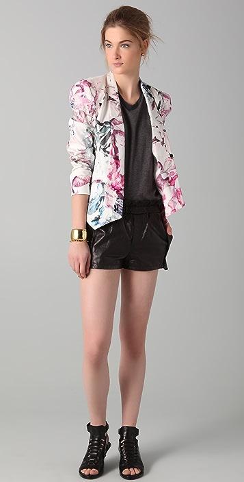Rebecca Minkoff Mika Leather Shorts