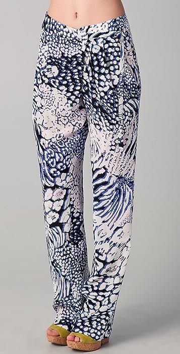 Rebecca Minkoff Kalahari Print Pants
