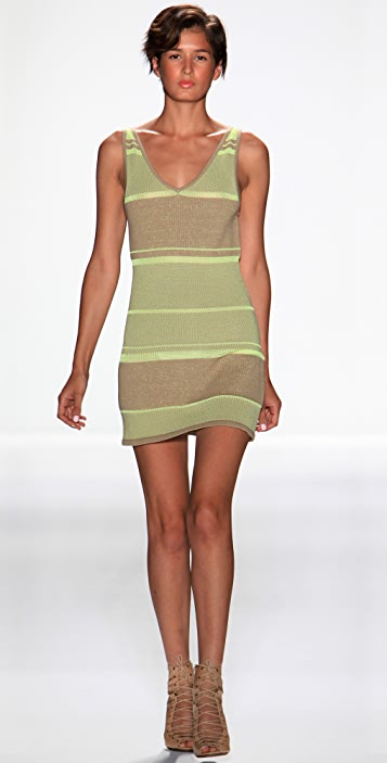 Rebecca Minkoff Sunset Knit Tank Dress