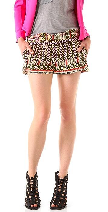 Rebecca Minkoff Mika Printed Shorts