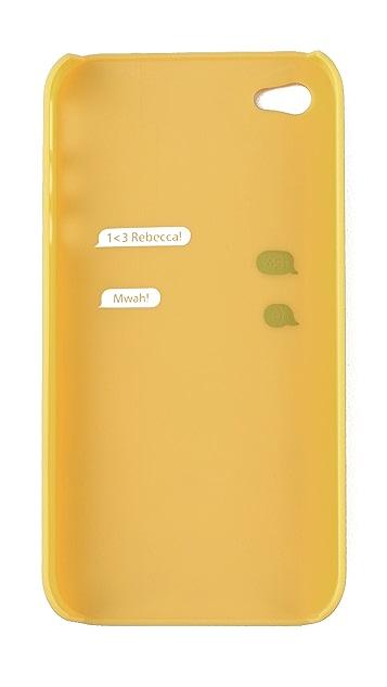 Rebecca Minkoff Ostrich iPhone Case