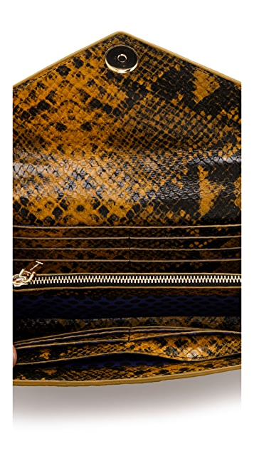 Rebecca Minkoff Python Wallet on a Chain