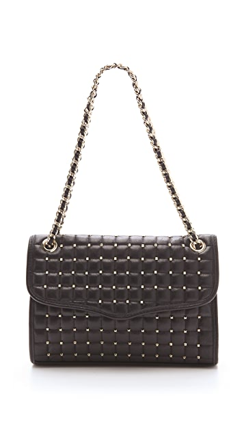 Rebecca Minkoff Pyramid Studded Affair Bag