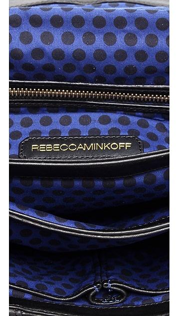 Rebecca Minkoff Woven Mini Beau Clutch