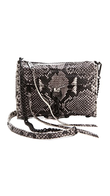 Rebecca Minkoff Python Mini MAC Bag