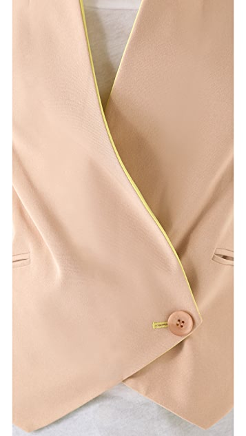 Rebecca Minkoff Becky Jacket with Contrast Lapels