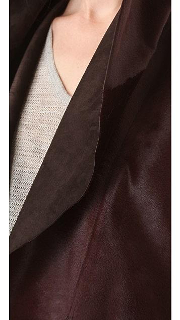 Rebecca Minkoff Cat Haircalf Vest
