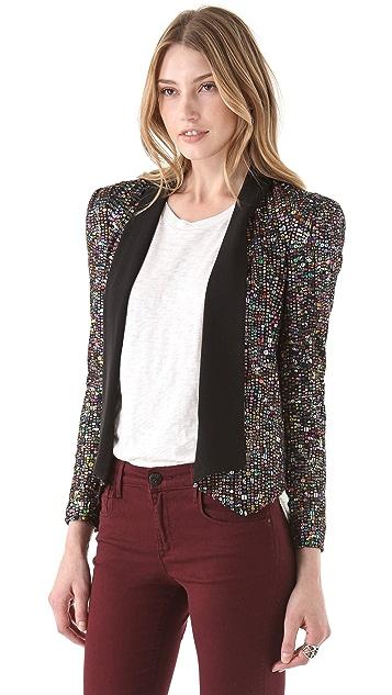 Rebecca Minkoff Becky Sequin Jacket