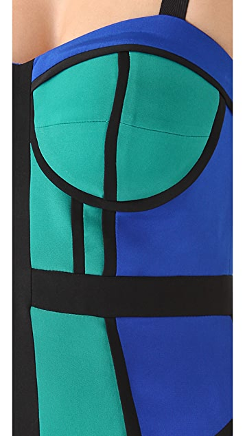 Rebecca Minkoff Clara Colorblock Dress
