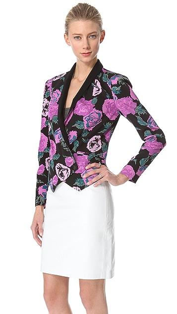 Rebecca Minkoff Rose Print Becky Jacket