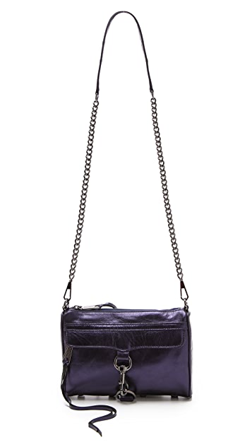 Rebecca Minkoff Metallic Mini MAC Bag