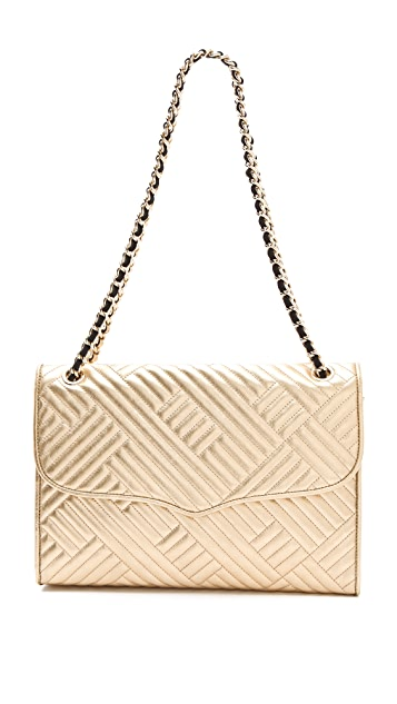 Rebecca Minkoff Metallic Quilted Large Affair Bag Shopbop