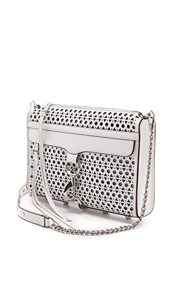 Rebecca Minkoff Triangle Perf MAC Bag