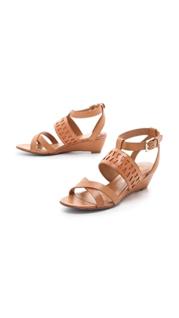 Rebecca Minkoff Lupe Demi Wedge Sandals