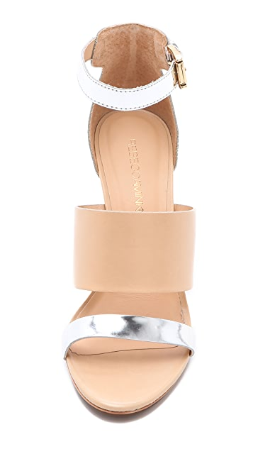 Rebecca Minkoff Stella Wedge Sandals