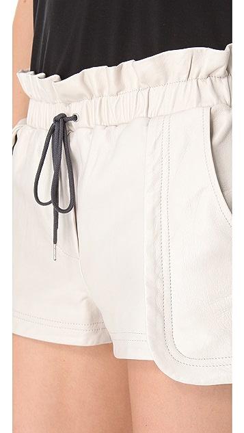 Rebecca Minkoff Leather Mika Shorts