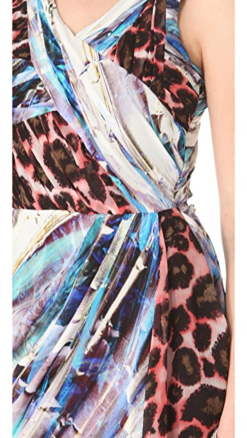Rebecca Minkoff Gertz Printed Dress