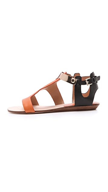 Rebecca Minkoff Bardot Colorblock Sandals
