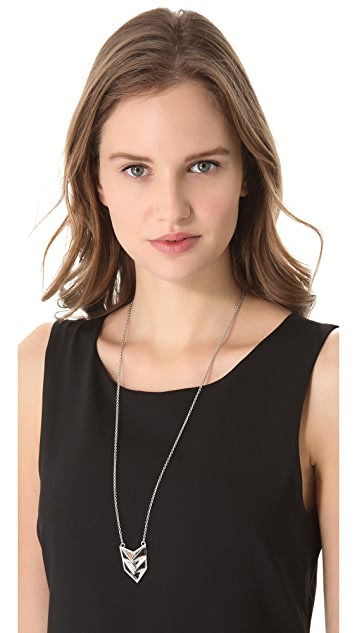 Rebecca Minkoff Double Heart Necklace
