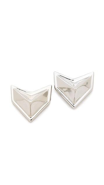 Rebecca Minkoff Heart Stud Earrings