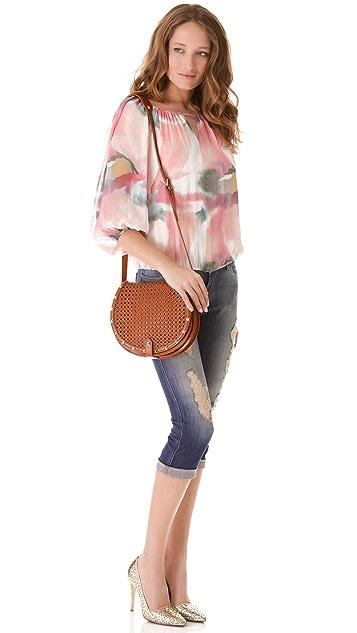 Rebecca Minkoff Skylar Wicker Bag