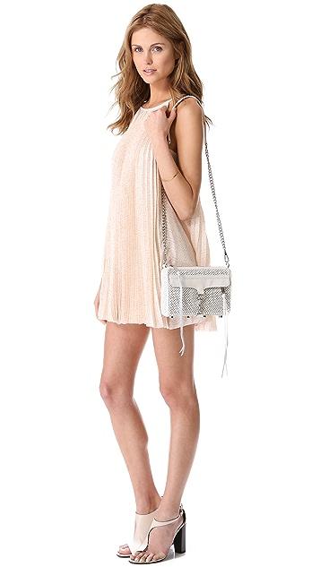Rebecca Minkoff Perforated Mini MAC Bag