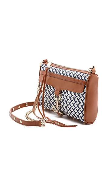 Rebecca Minkoff Crisscross Weave Mini MAC Bag