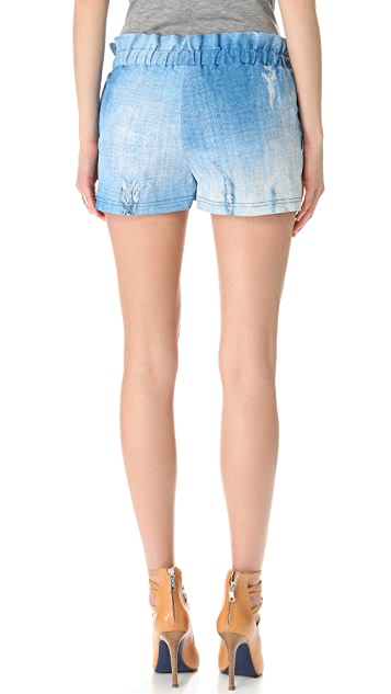 Rebecca Minkoff Mika Leather Shorts