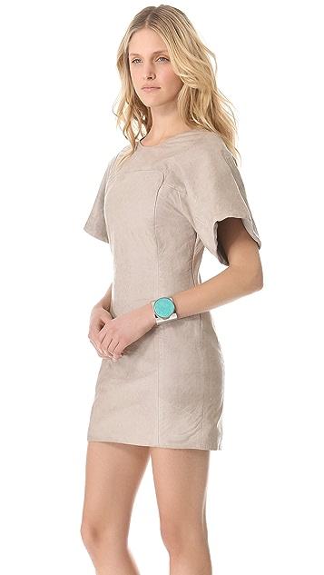 Rebecca Minkoff Luis Leather Dress