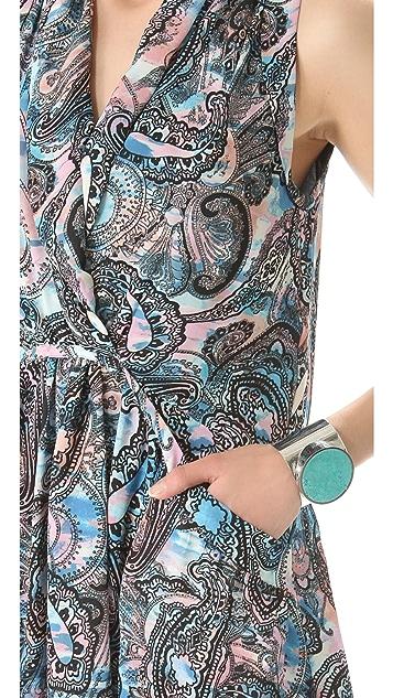 Rebecca Minkoff Mojabe Paisley Dress