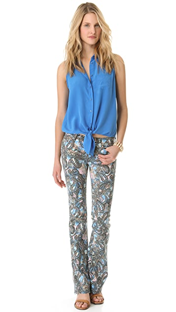 Rebecca Minkoff Paisley Skinny Boot Jeans