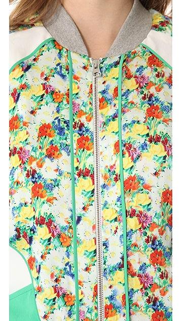 Rebecca Minkoff Acid Bloom Nolan Jacket