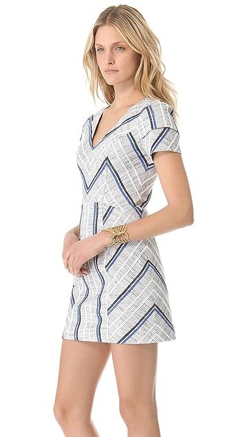 Rebecca Minkoff Sanderson Tweed Katya Dress