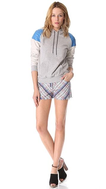 Rebecca Minkoff Saratoga Acid Tweed Shorts
