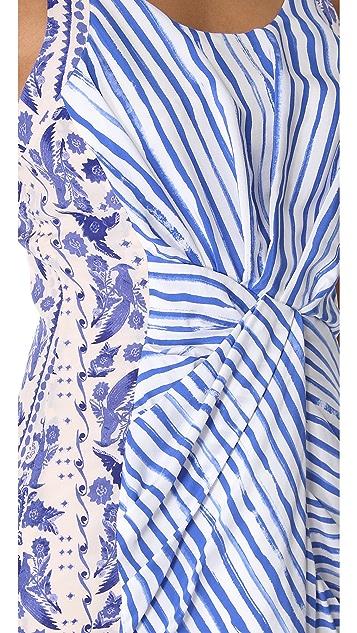 Rebecca Minkoff Brush Stripe Joshua Dress