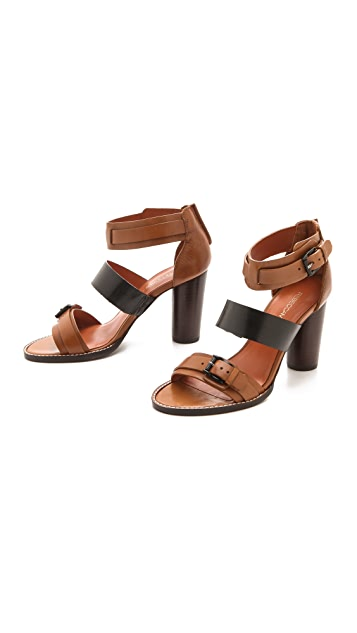 Rebecca Minkoff Morty Three Band Sandals